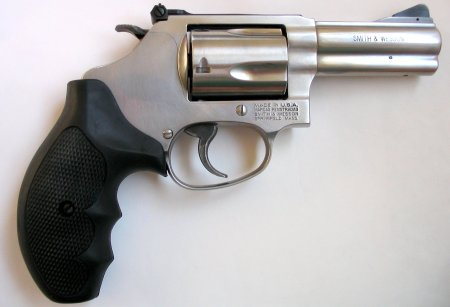 Smith & Wesson Model 60 .38 Special revolver with a 3-inch barrel